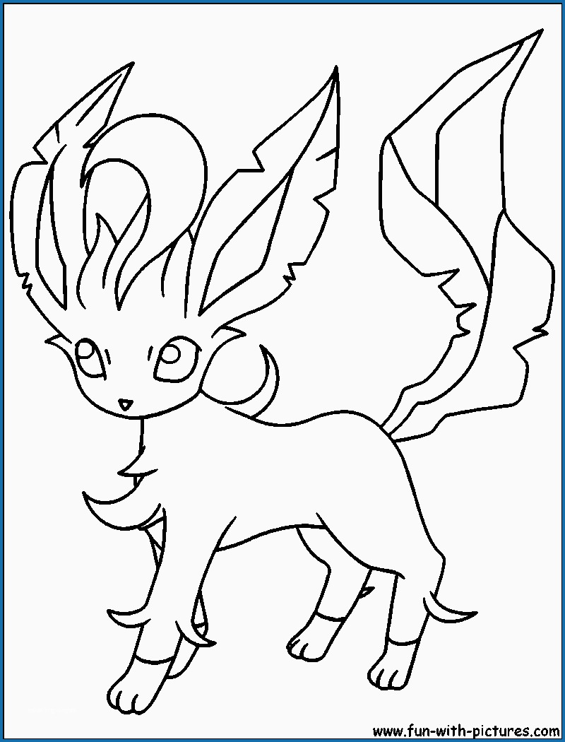 Pokemon Eevee Evolutions Coloring Pages Coloring Book Eevee Evolutions Coloring Pages Free Pikachu And