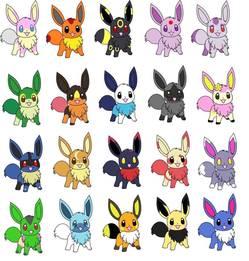 Pokemon Eevee Evolutions Coloring Pages Eevee Evolutions Free Coloring Pages On Art Coloring Pages