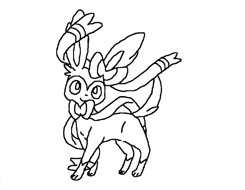 Pokemon Eevee Evolutions Coloring Pages Image Of Coloring Pages Pokemon Sylveon Image Result For Pokemon