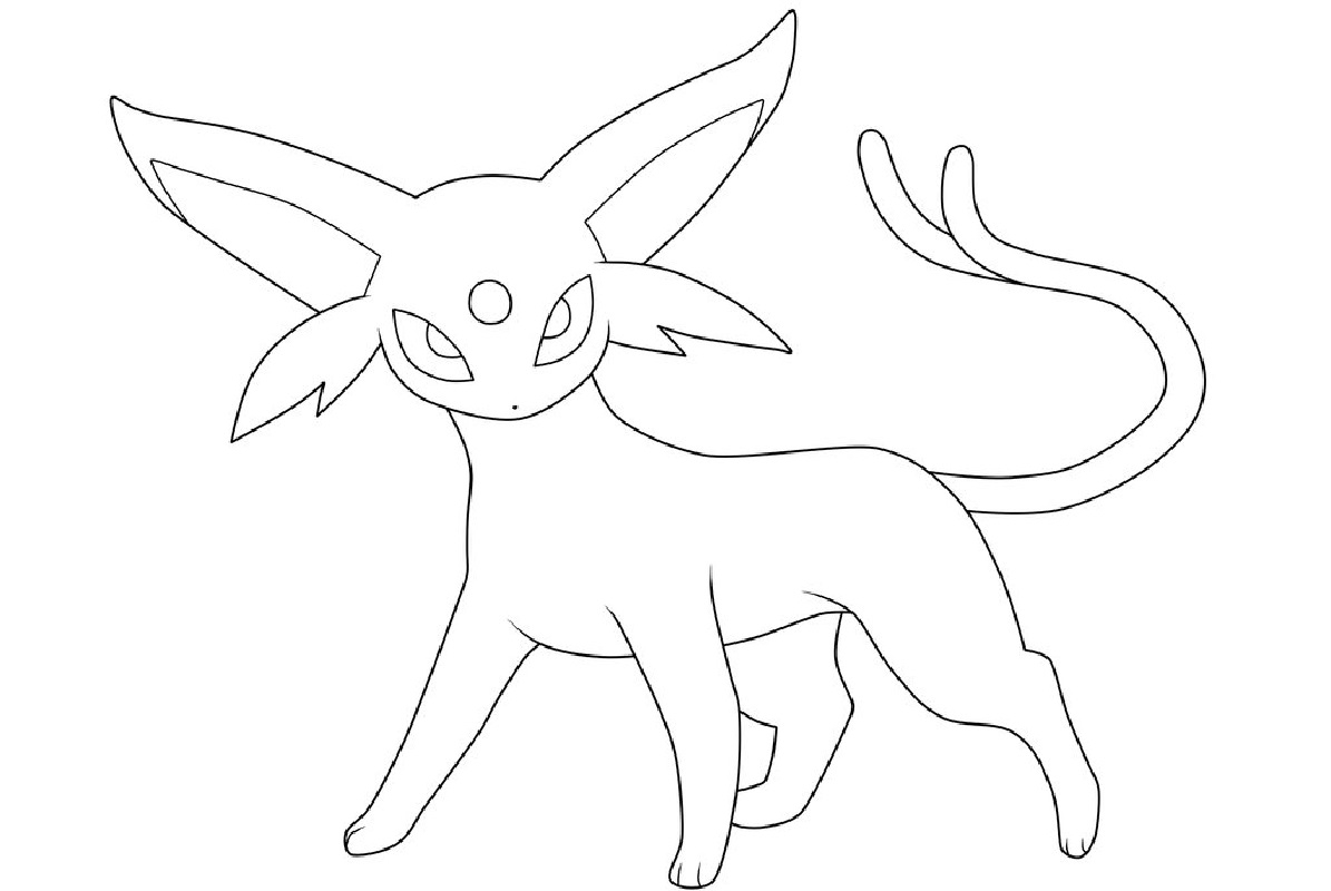 Pokemon Eevee Evolutions Coloring Pages Pokemon Coloring Pages 2019 Educative Printable
