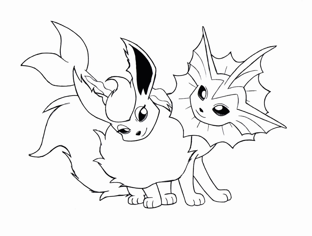 Pokemon Eevee Evolutions Coloring Pages Pokemon Coloring Pages Eevee Evolutions Umbreon Free Coloring Library