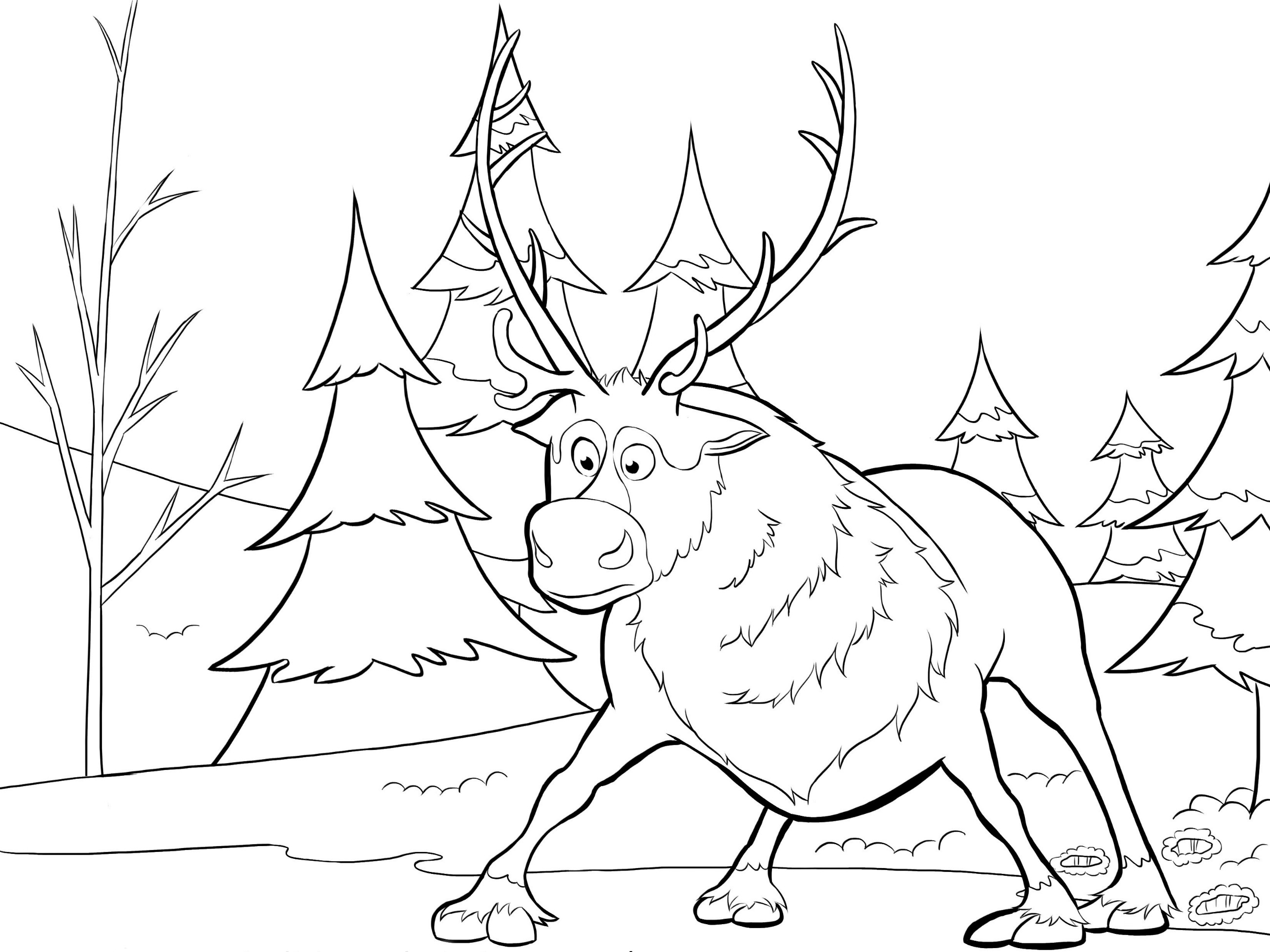 Polar Express Color Pages Christmas Coloring Pages