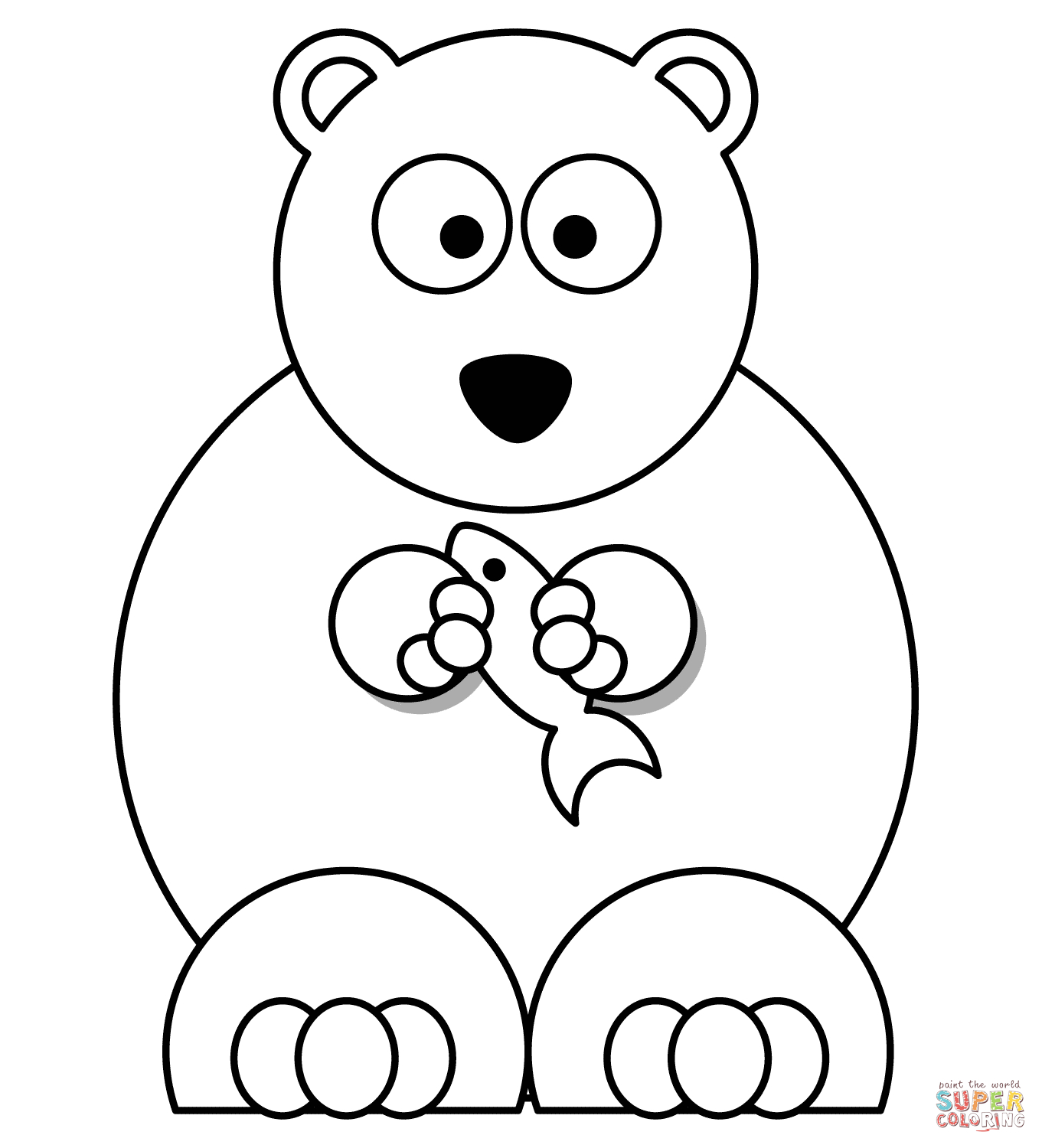 Polar Express Color Pages Polar Bears Coloring Pages Free Coloring Pages