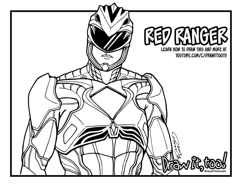 Power Rangers Rpm Coloring Pages Power Ranger Coloring Pages Fun Time