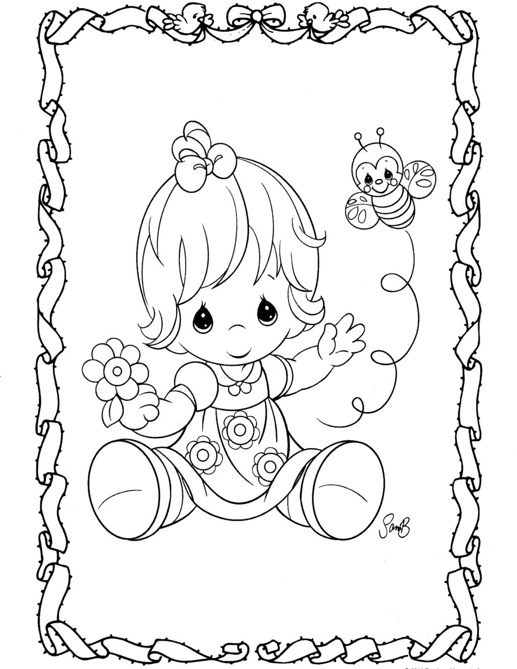 Precious Moments Baby Coloring Pages Coloring Book World Coloring Book World Precious Moments Pages