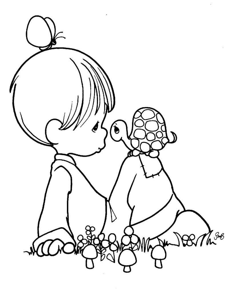 Precious Moments Baby Coloring Pages Precious Moments Ba Coloring Pages Welcome New Hoofard