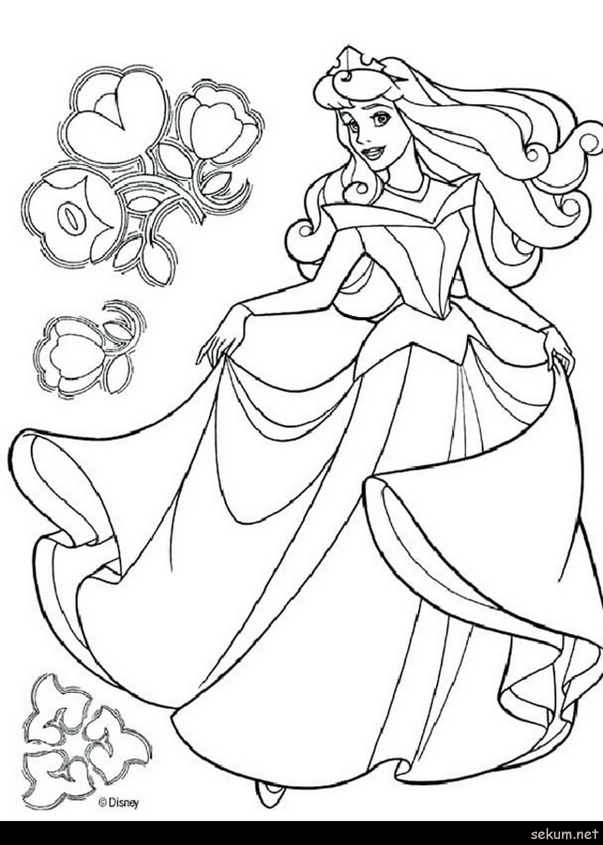 Princess Aurora Coloring Pages Free Coloring Books Princess Aurora Coloring Page Books Fabulous With