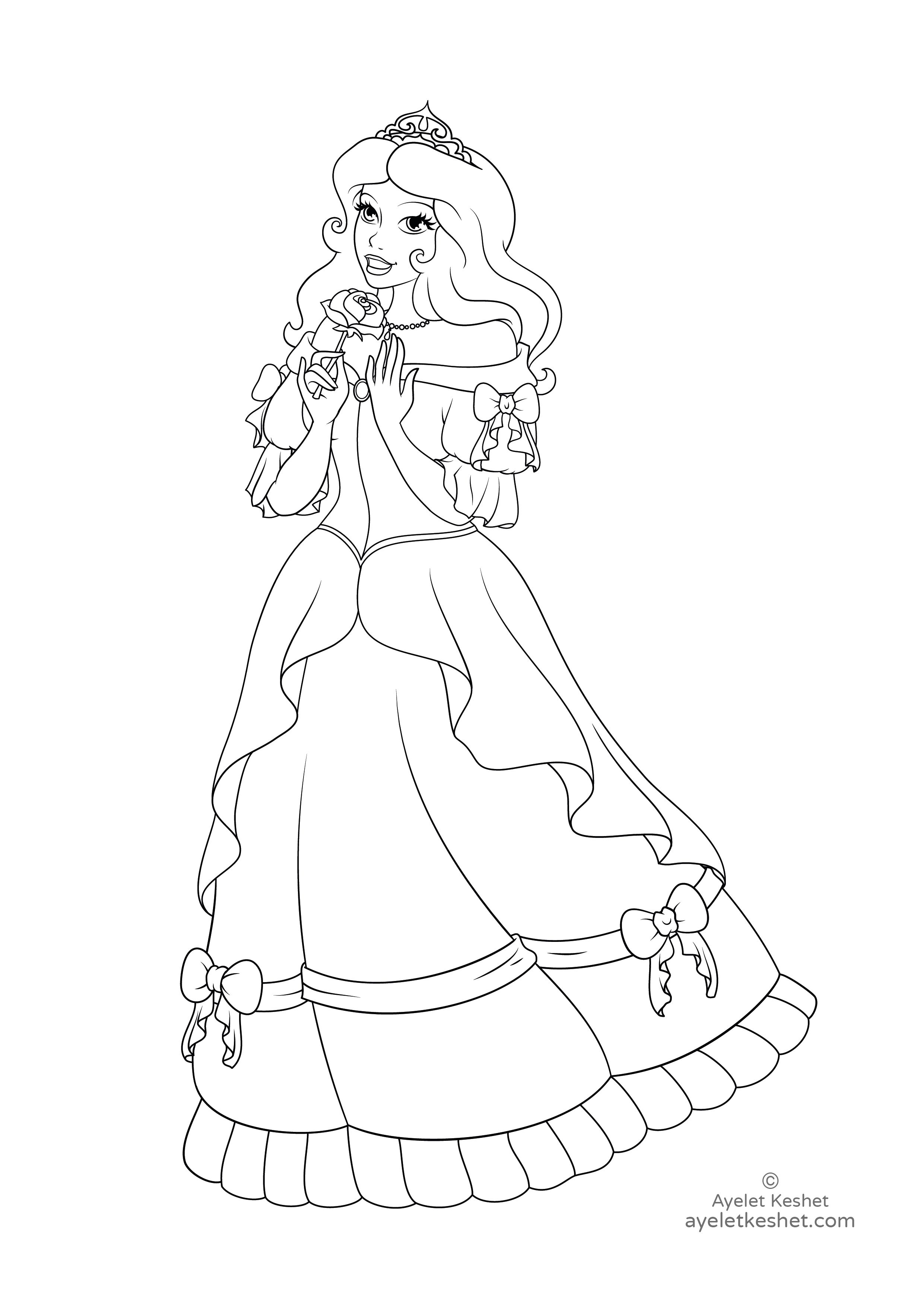Princess Aurora Coloring Pages Free Coloring Pages Princess Aurora Coloring Pages Print Elsa Anime