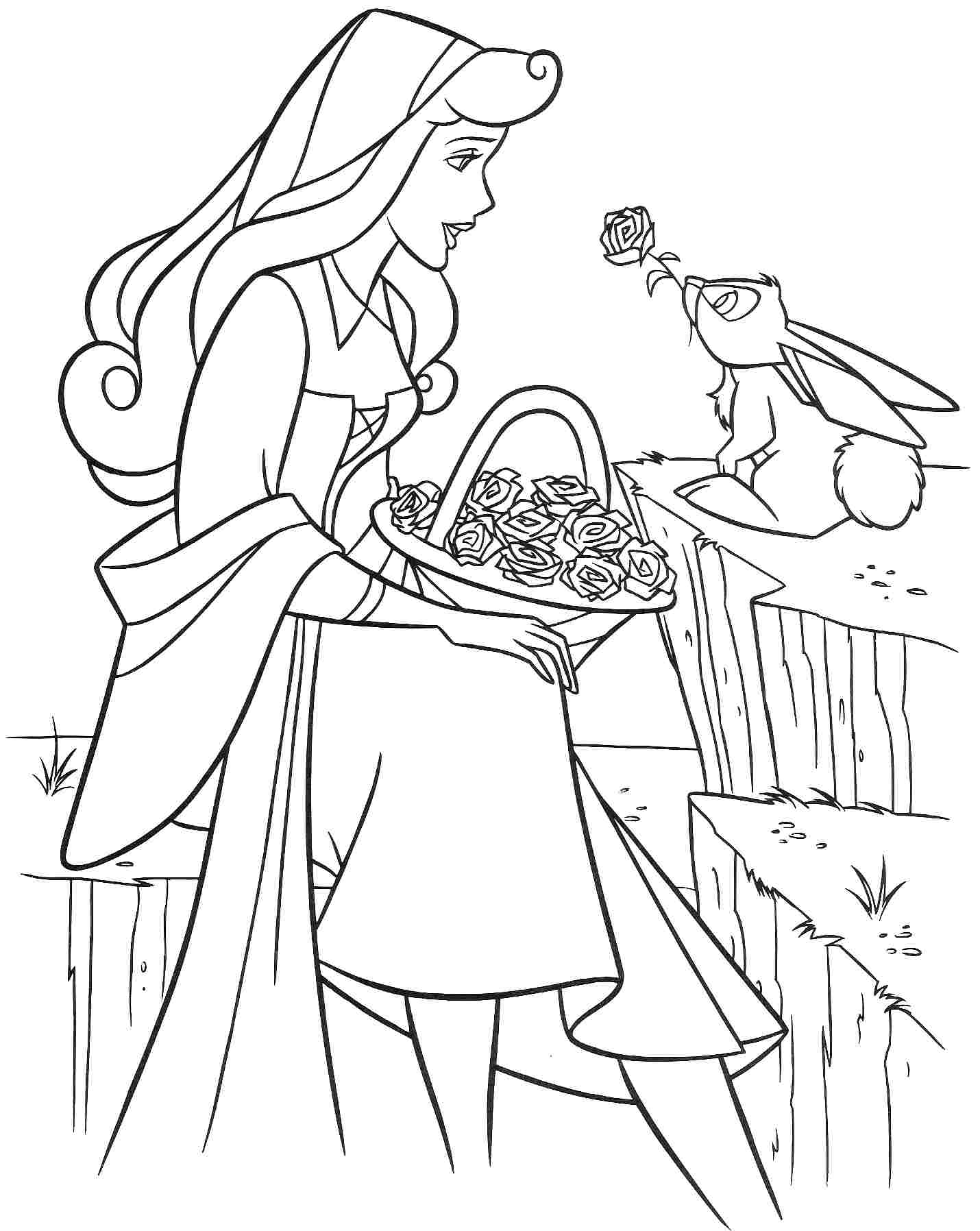 Princess Aurora Coloring Pages Free Disney Sleeping Beauty Coloring Pages Free Murderthestout