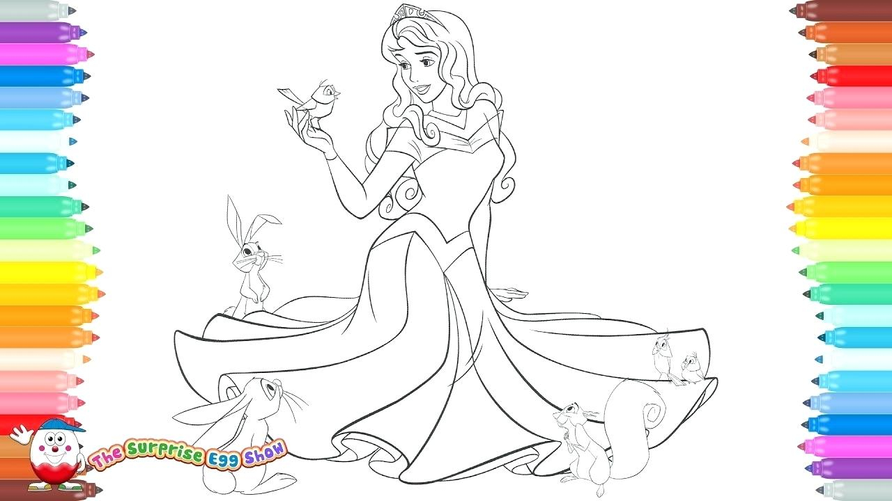 Princess Aurora Coloring Pages Free Princess Aurora Coloring Highendpaperco