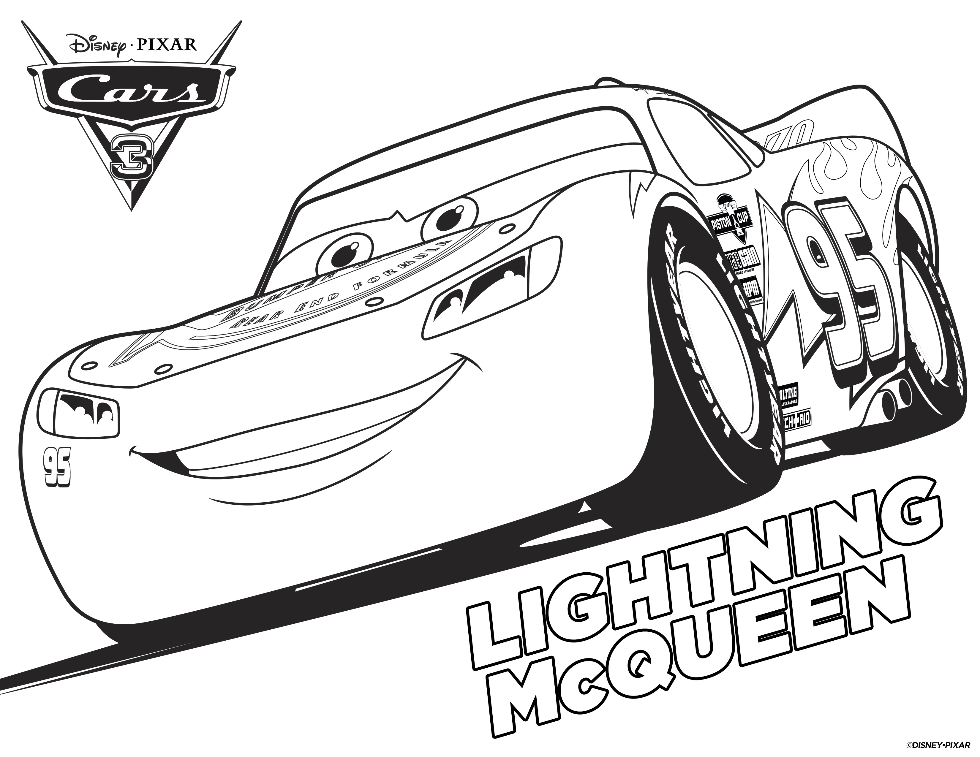 Printable Coloring Pages Cars 4 Disney Cars Free Printable Coloring Pages