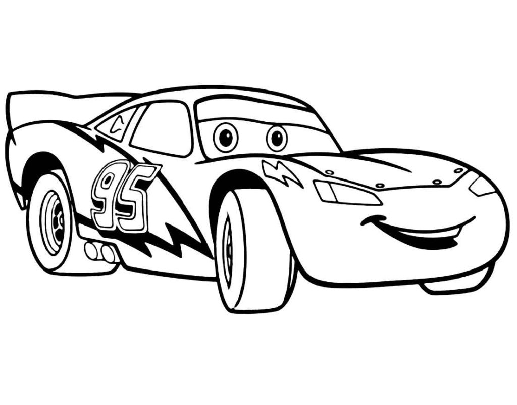 Printable Coloring Pages Cars Coloring 3rd Birthday Lightning Mcqueen Printables Cake Layout