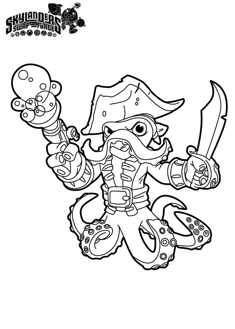 Printable Coloring Pages Skylanders Coloring Skylanders Coloring Pages Skylander Color Spyro Page More