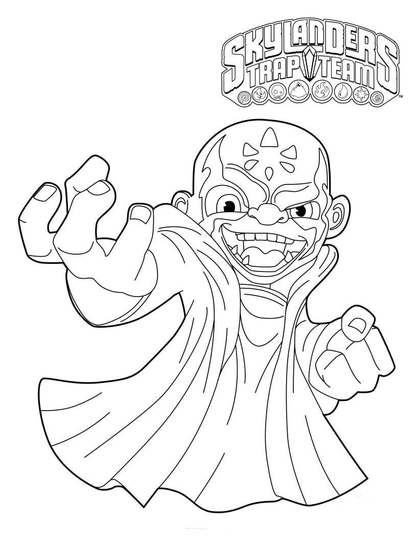 Printable Coloring Pages Skylanders Free Printable Skylanders Coloring Pages For Skylanders Printable