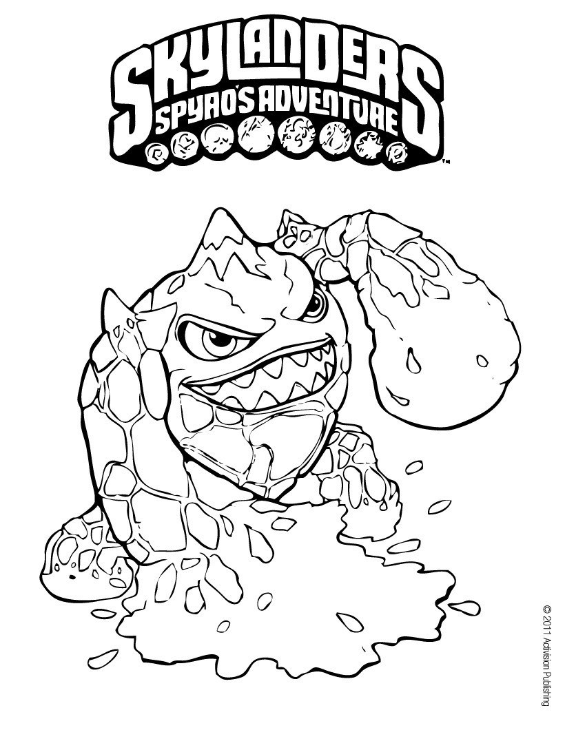Printable Coloring Pages Skylanders Printable Skylanders Coloring Pages Feisty Frugal Fabulous
