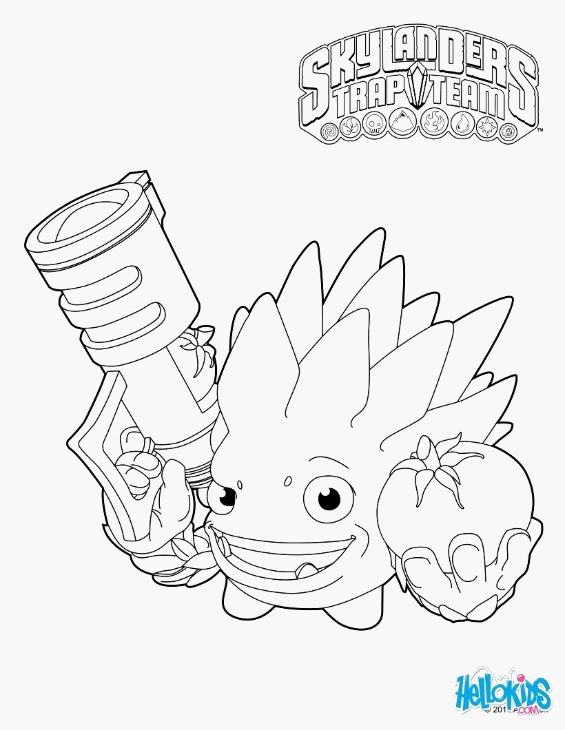 Printable Coloring Pages Skylanders Skylander Coloring Pages For Kids With Hello Kids Coloring Pages