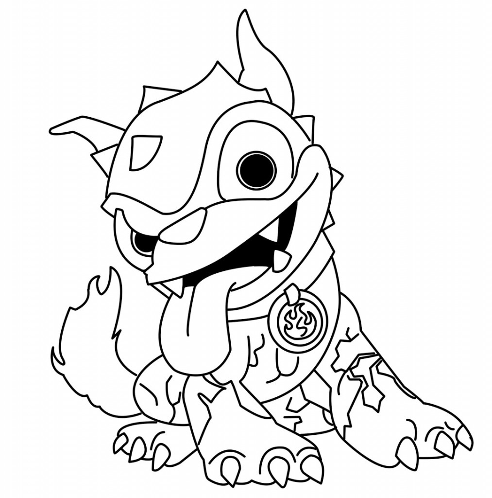 Printable Coloring Pages Skylanders Skylanders Coloring Page Printable Coloring Home For Skylanders