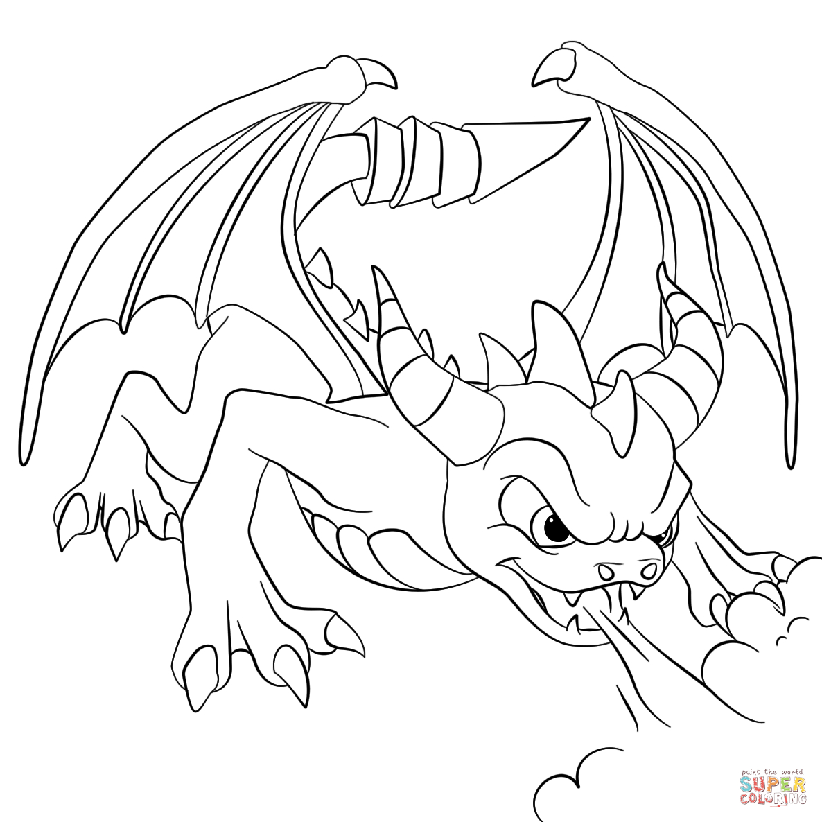 Printable Coloring Pages Skylanders Skylanders Coloring Pages Free Coloring Pages