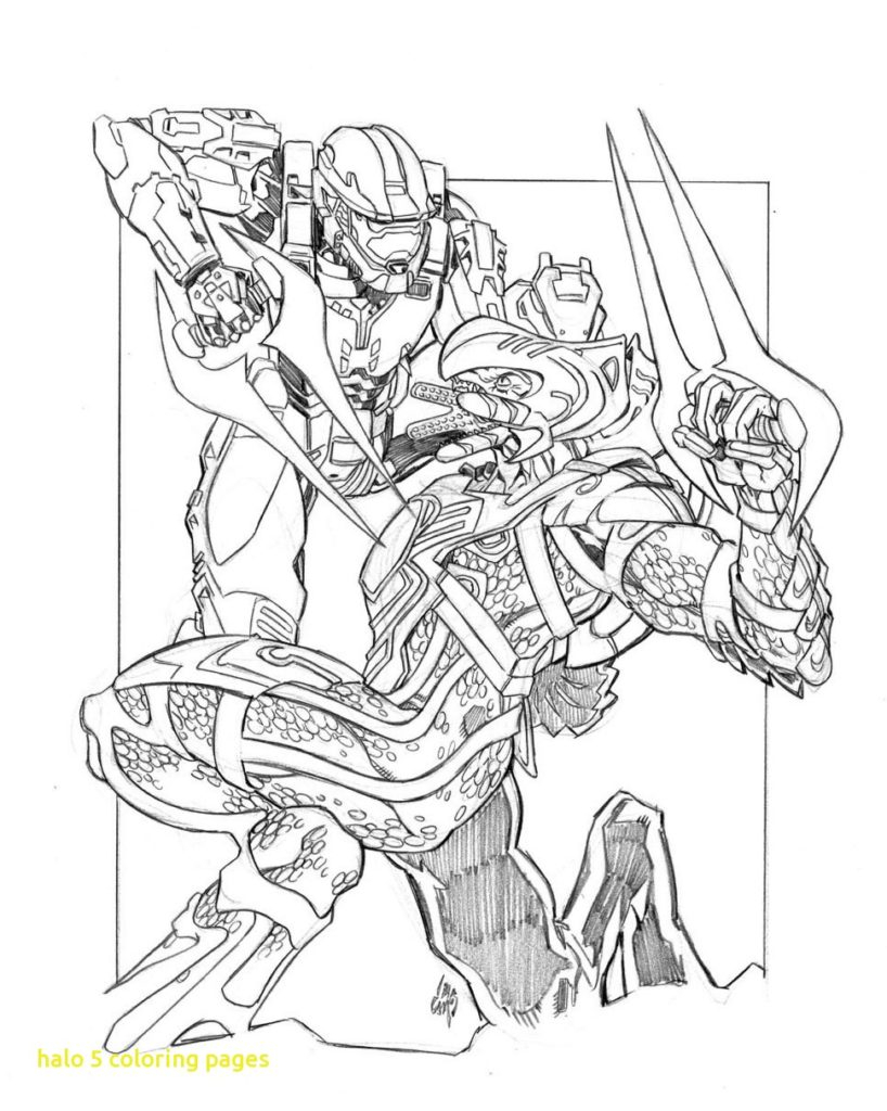 Printable Halo Coloring Pages Halo 4 Master Chief Coloring Pages At Getdrawings Free For