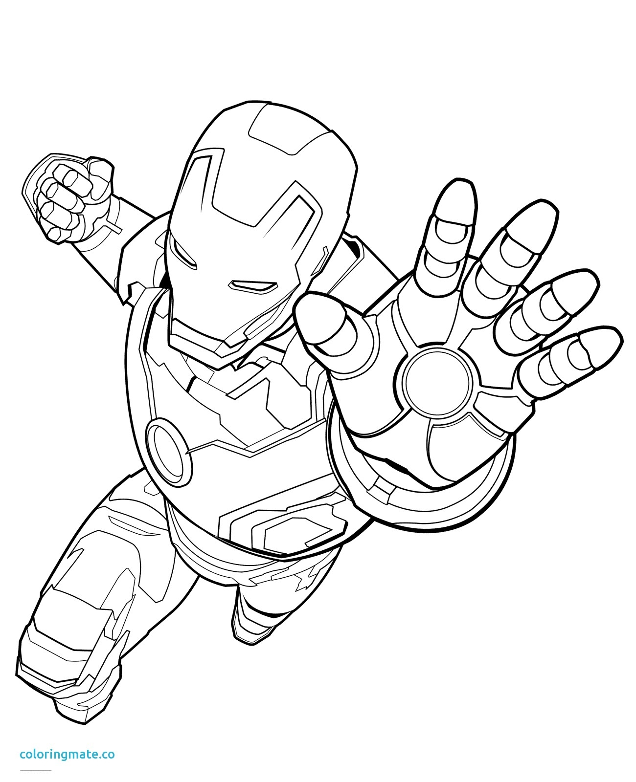 Printable Ironman Coloring Pages Coloring Free Printable Iron Man Coloring Pages For Kids