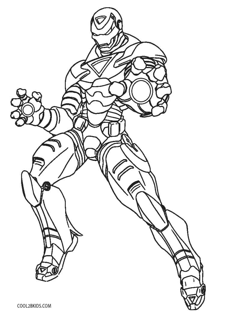 Printable Ironman Coloring Pages Free Printable Iron Man Coloring Pages For Kids Cool2bkids
