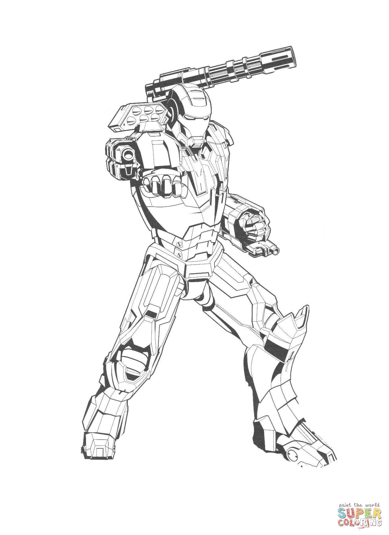 Printable Ironman Coloring Pages Iron Man Coloring Pages Free Coloring Pages