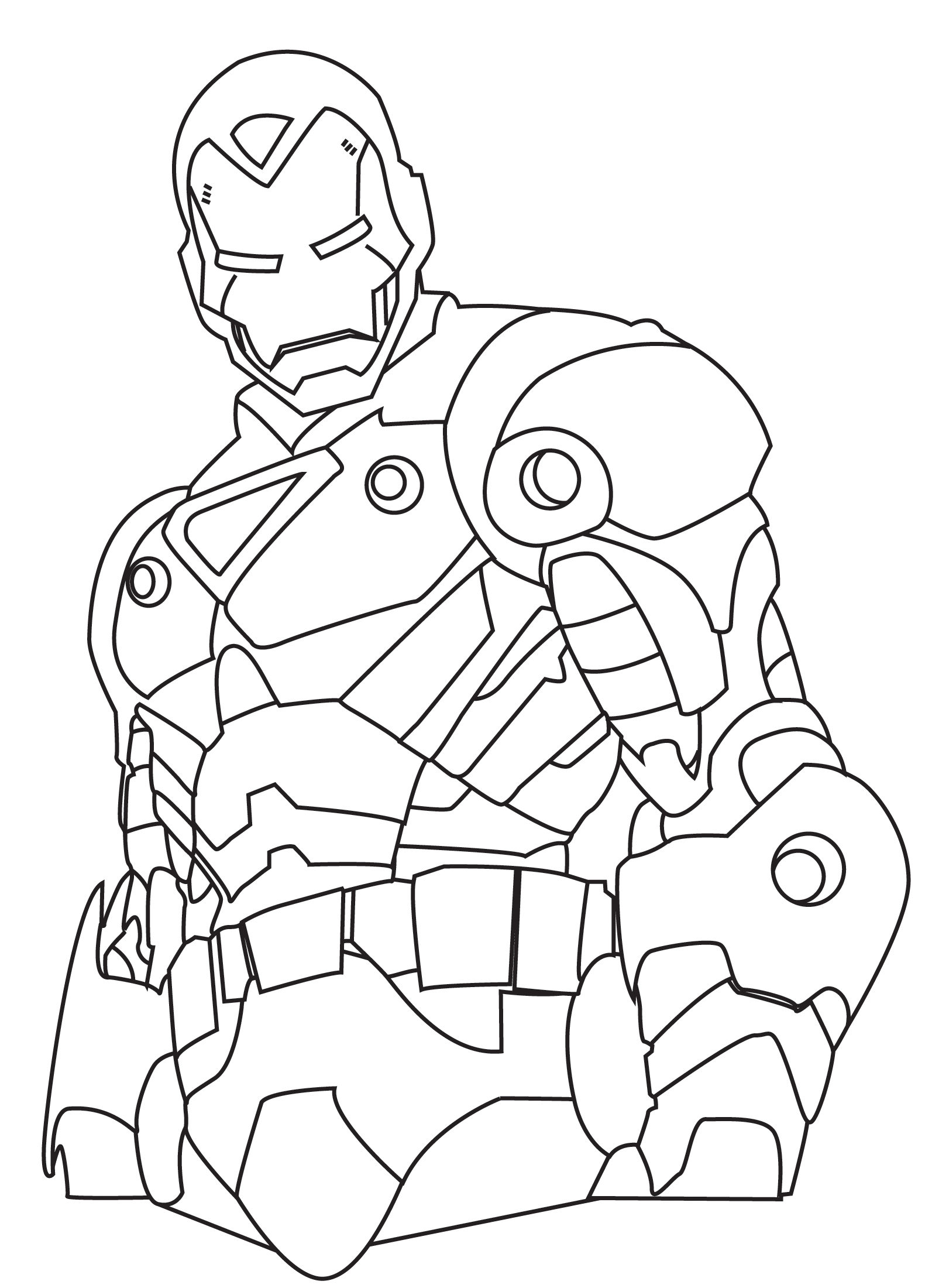 Printable Ironman Coloring Pages Printable Ironman Colouring Pages For Kids Download Free Printable