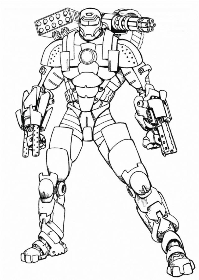 Printable Ironman Coloring Pages The Best Free Ironman Coloring Page Images Download From 164 Free