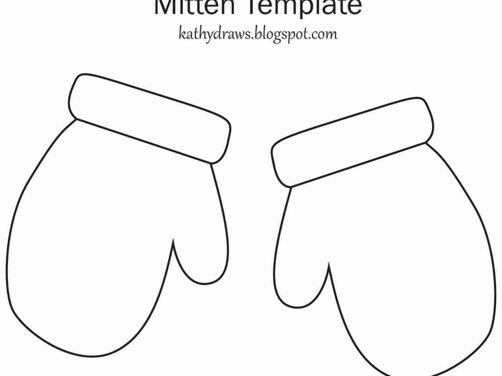 Printable Mitten Coloring Page Coloring Page Coloring Page Mitten Sheet Incredible Photo