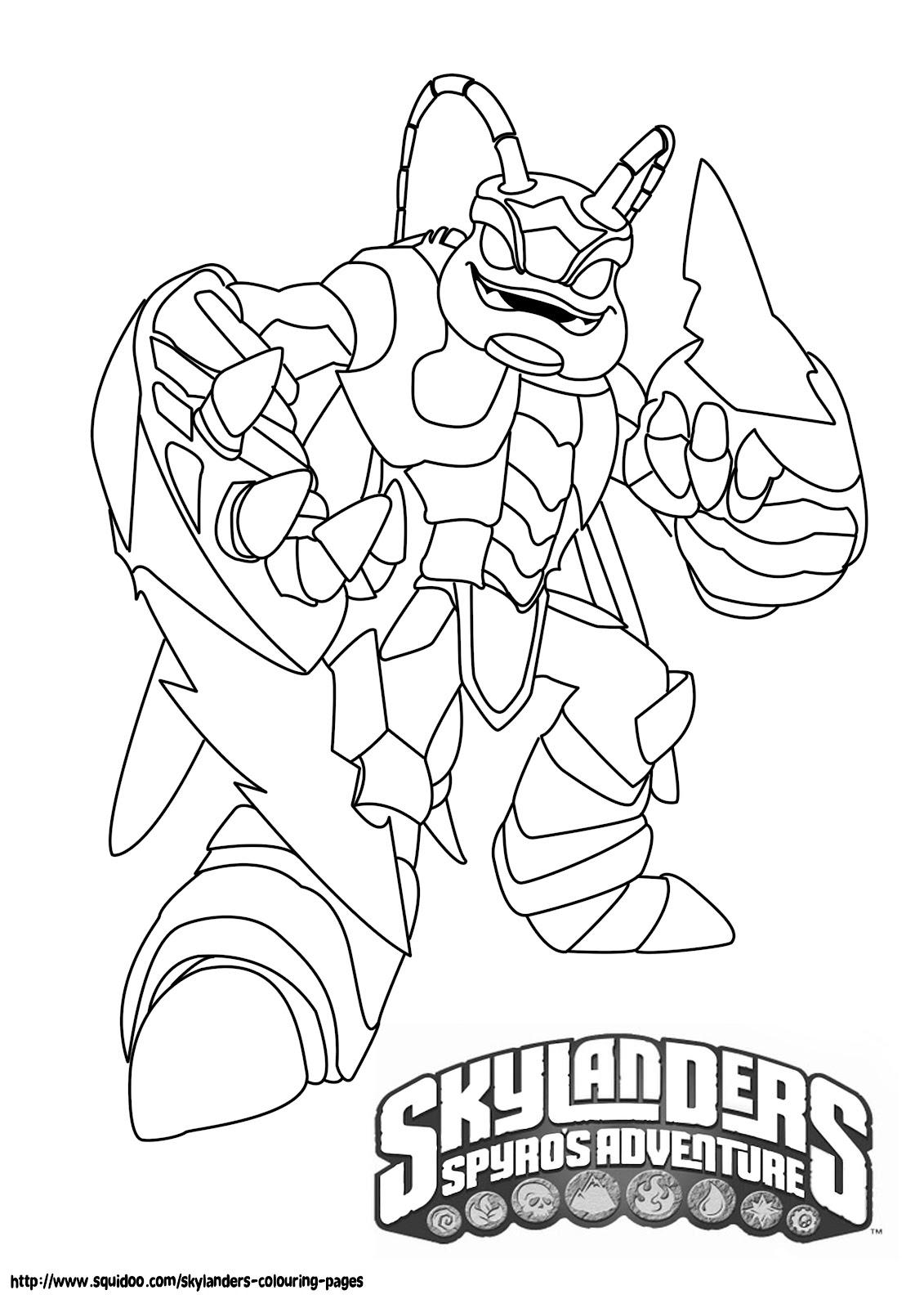 Printable Skylanders Coloring Pages Printable Skylanders Coloring Pages Feisty Frugal Fabulous