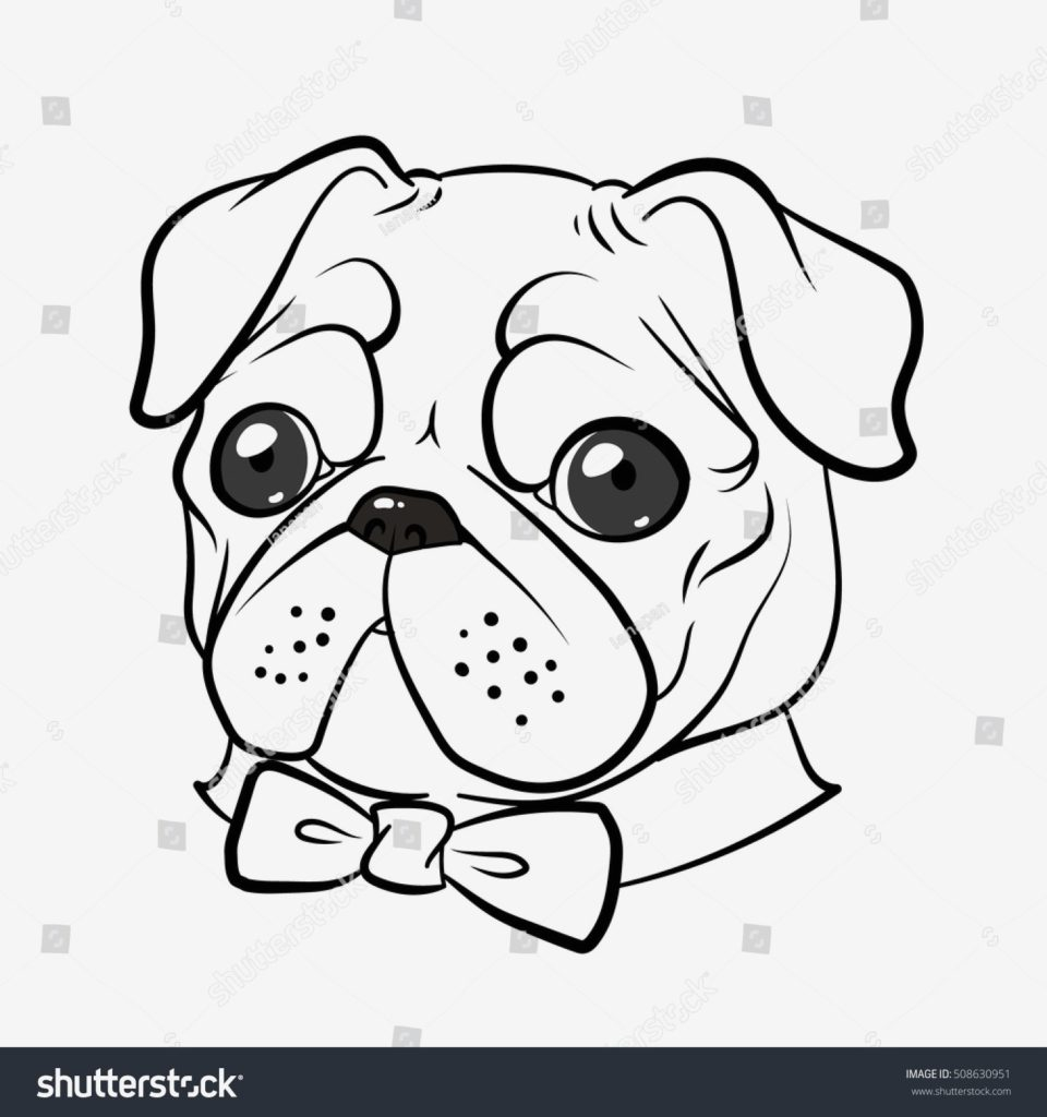 Pug Puppy Coloring Pages Coloring Tremendous Pug Coloring Pages Picture Ideas Printable New