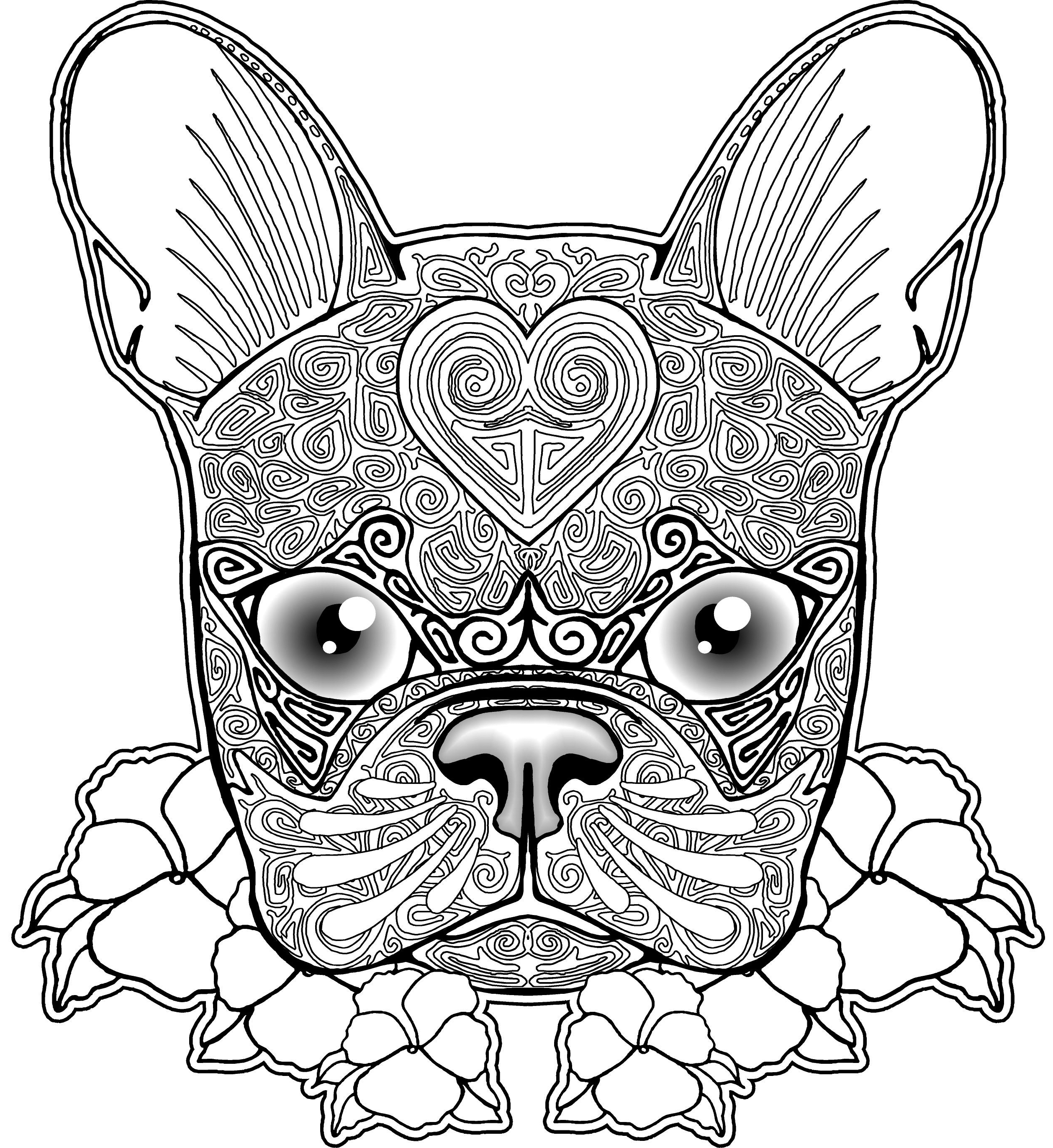 Pug Puppy Coloring Pages French Bulldog Pug Puppy Coloring Pages Print Coloring