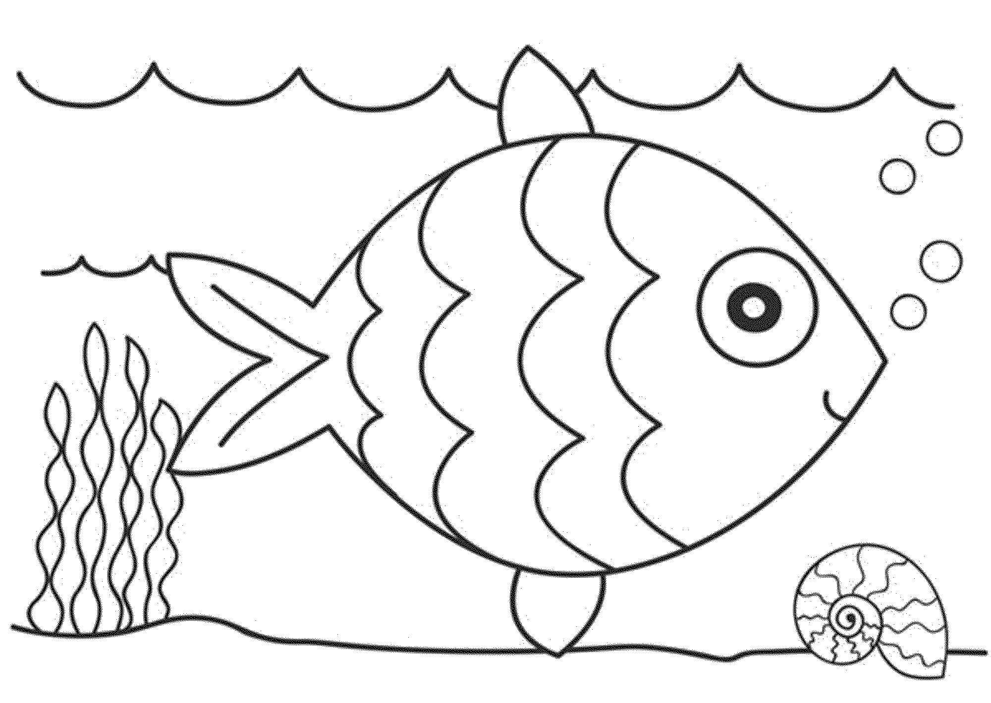 Rainbow Fish Coloring Pages Preschoolers Coloring Pages Cartoon Fish Coloring Pages Png Ssl Fishing