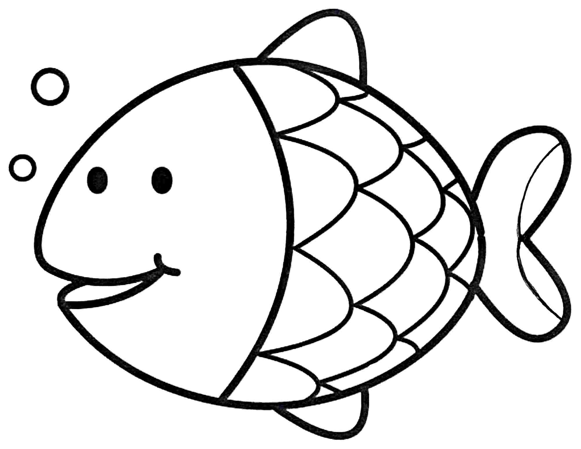 Rainbow Fish Coloring Pages Preschoolers Coloring Pages Coloring Free Pages For Toddlers Printable
