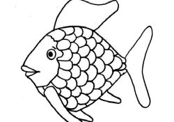 Rainbow Fish Coloring Pages Preschoolers Coloring Pages Inspiring Rainbow Fish Coloring Preschool To Fancy