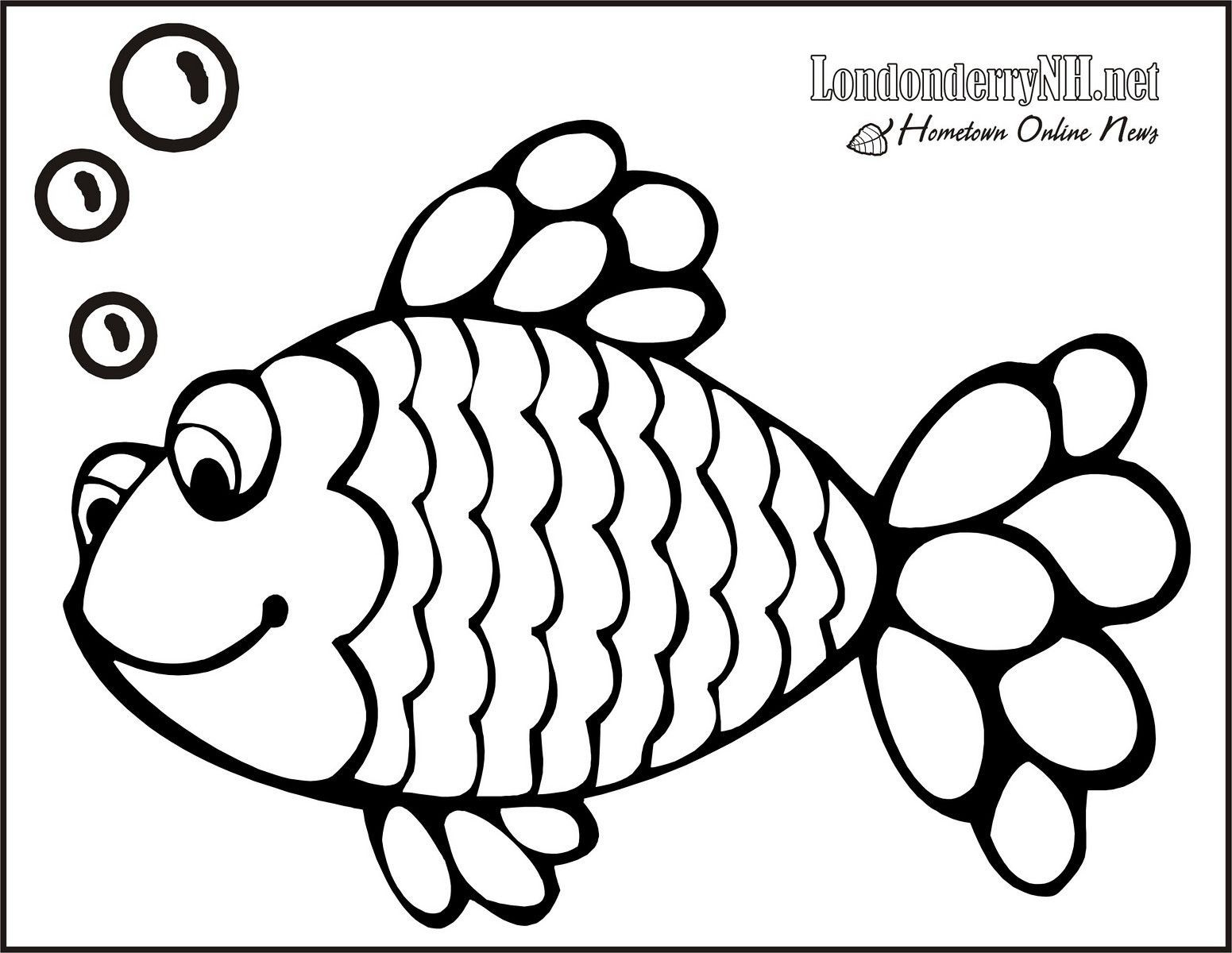 Rainbow Fish Coloring Pages Preschoolers Unicorn With Rainbow Coloring Page Elegant Rainbow Fish Coloring
