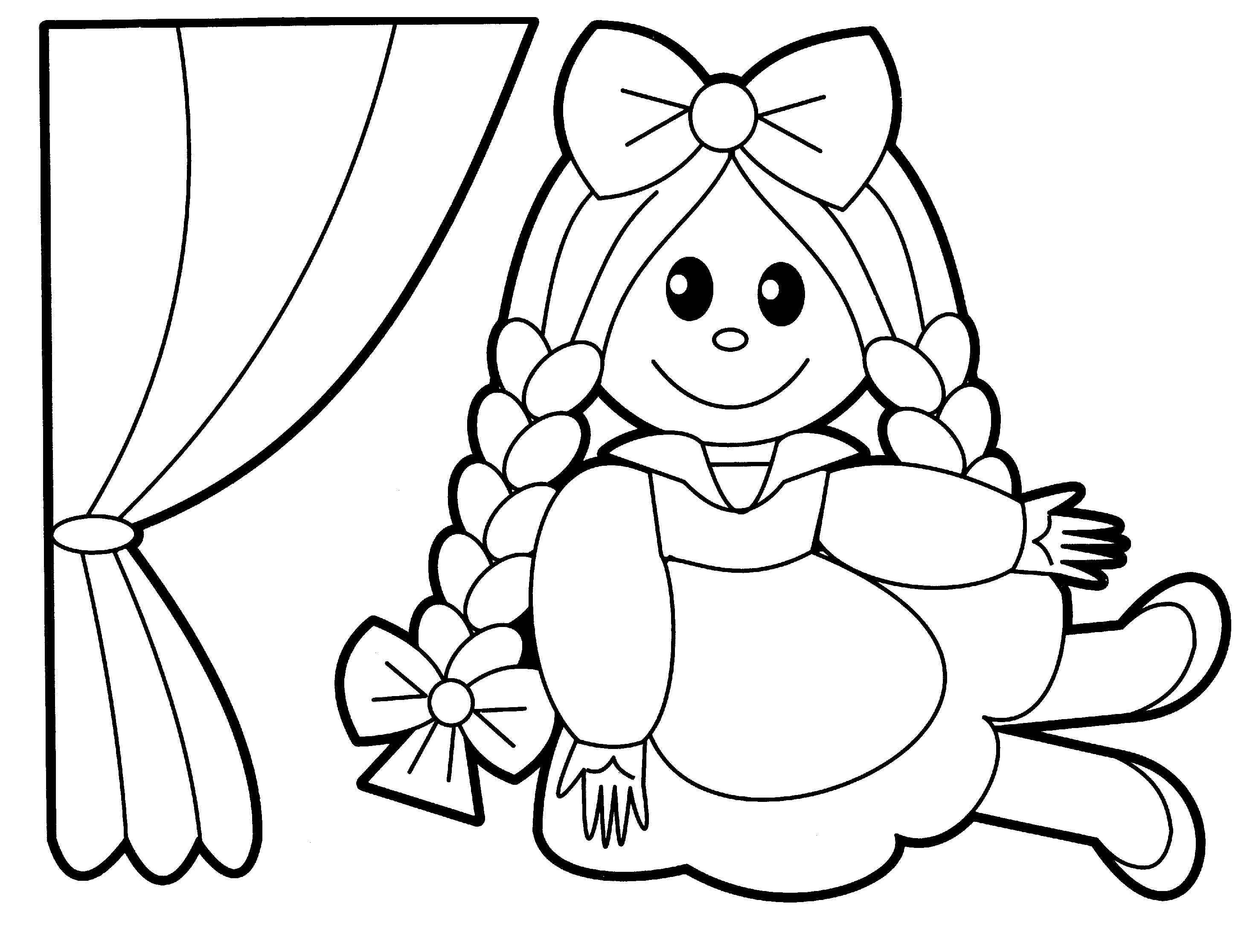 Rattle Coloring Page Ba Toys Coloring Pages Coloring Home