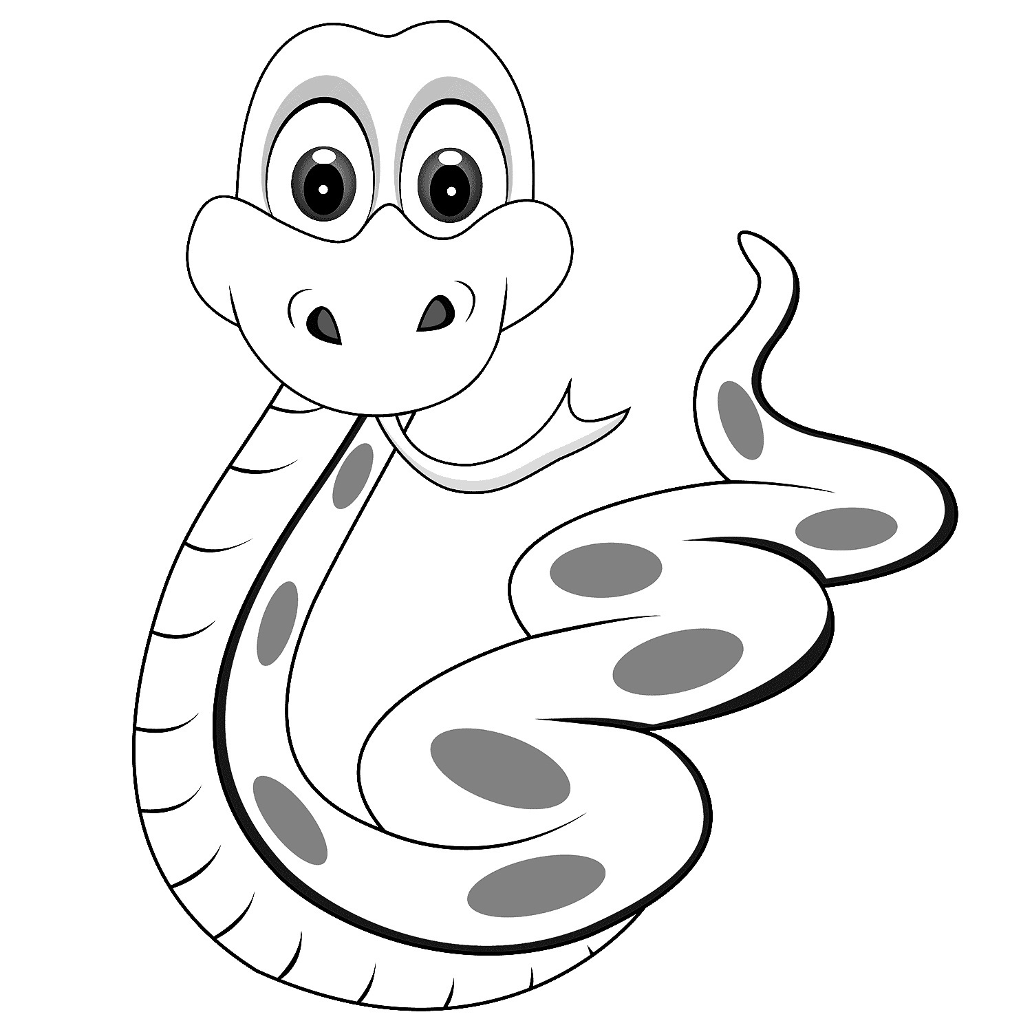Rattle Coloring Page Coloring Coloring Cobra Snake Pages For Kids Animal Page Sheet