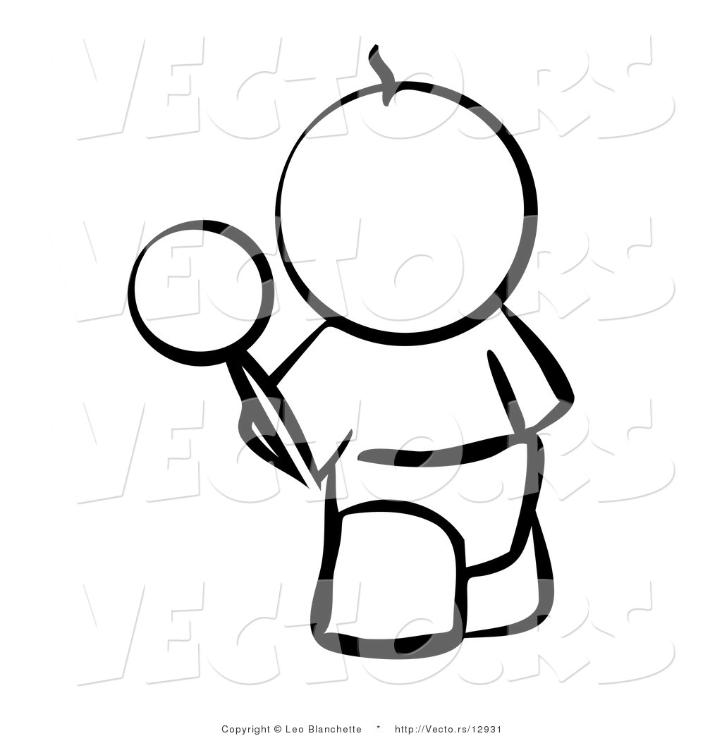 Rattle Coloring Page Vector Of Ba Outline With A Rattle Coloring Page Outlined Art
