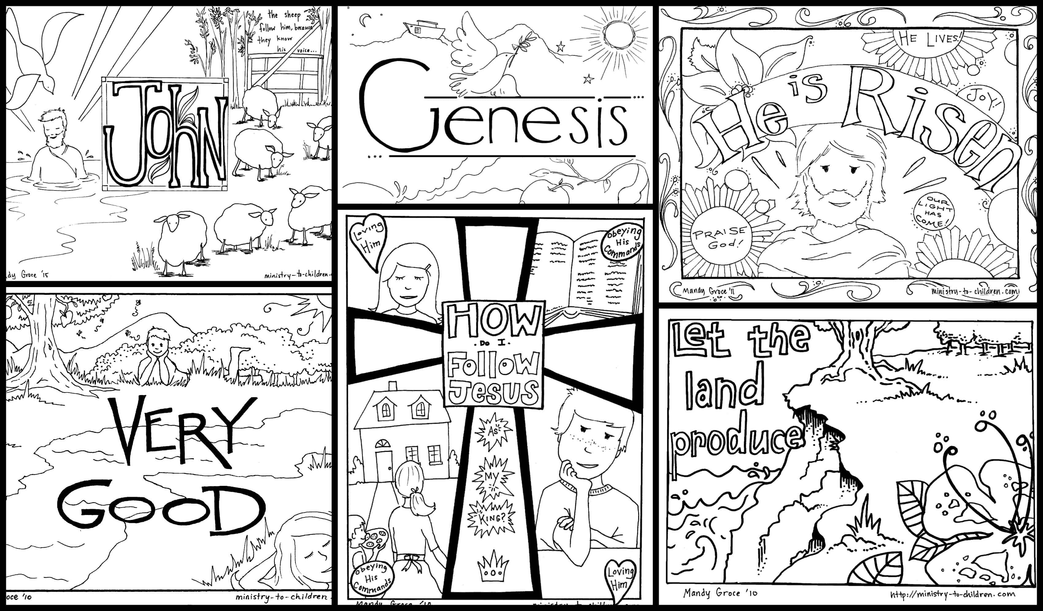 Religious Coloring Pages For Kids Bible Coloring Pages For Kids Free Printables