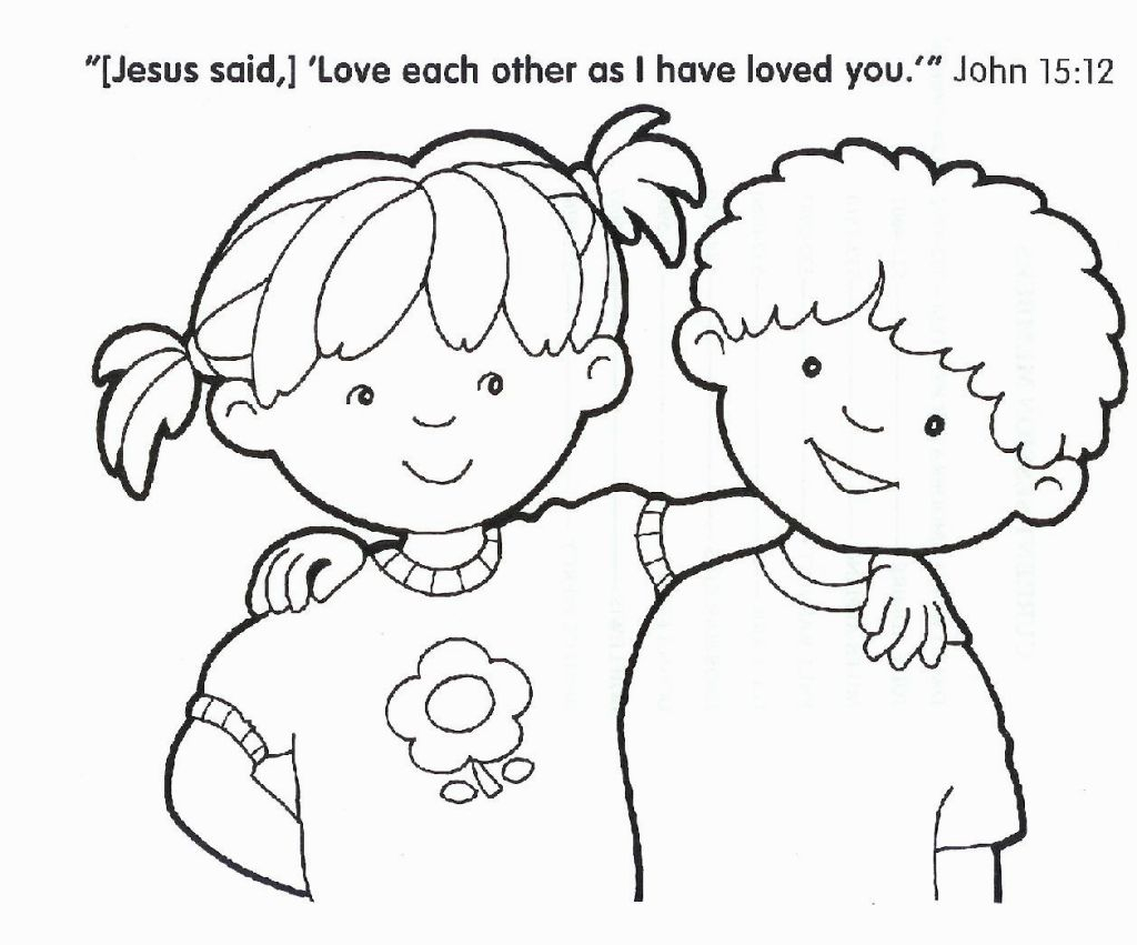 Religious Coloring Pages For Kids Christian Coloring Pictures Coloring Pages