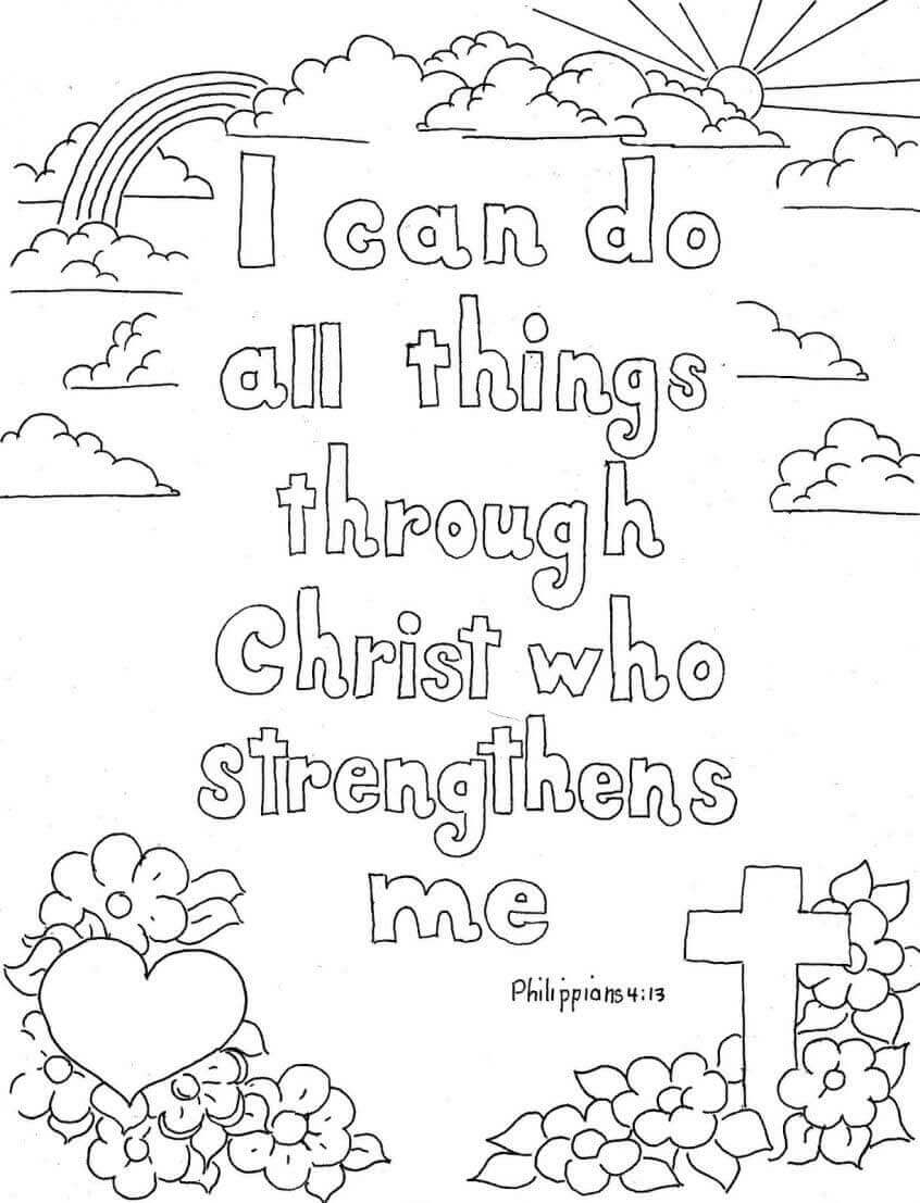 Religious Coloring Pages For Kids Printable Christian Coloring Pages For Kids And Adults