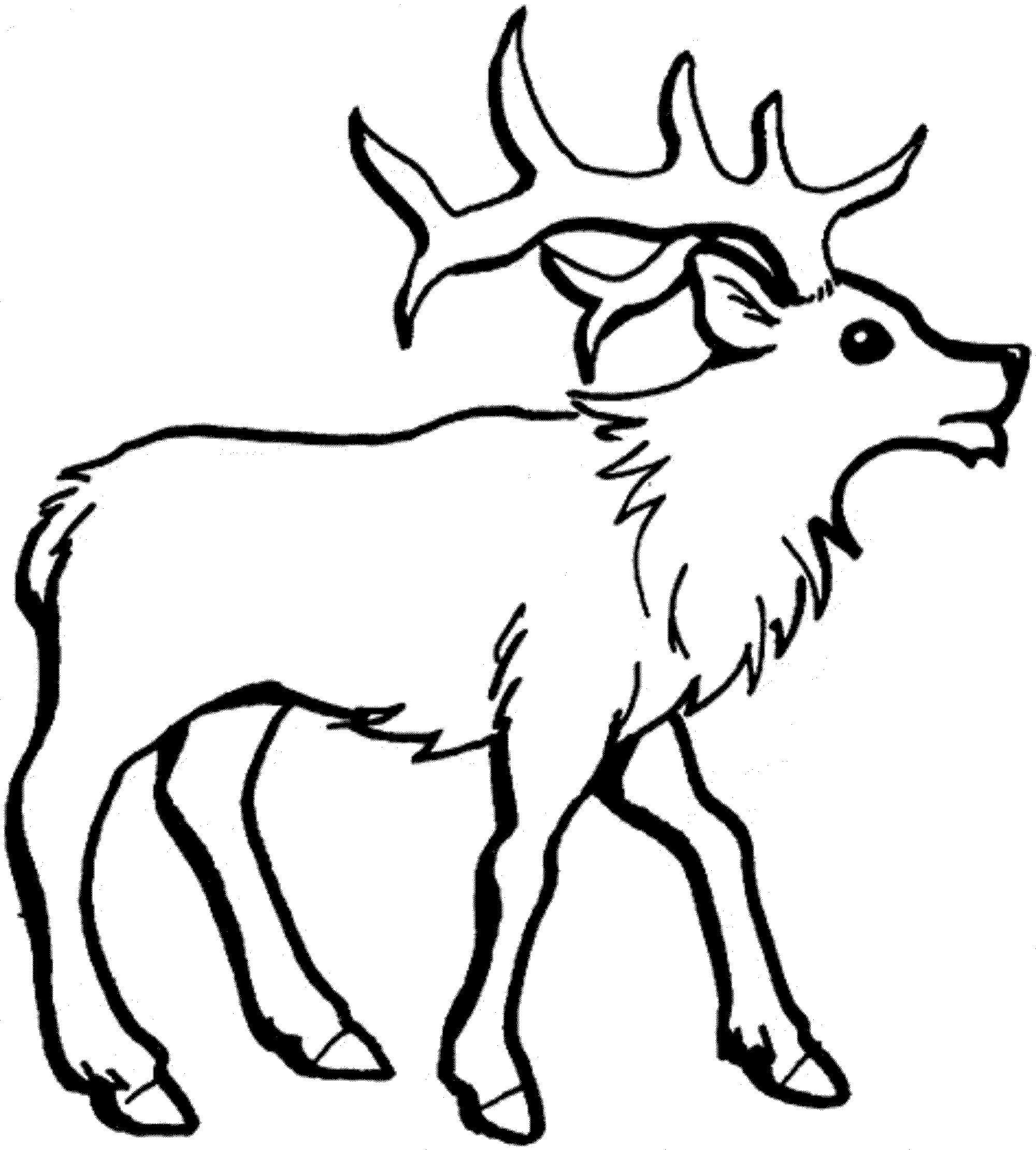 Santa And Rudolph Coloring Pages Santa Reindeers Coloring Pages Beautiful Color The Red Nosed