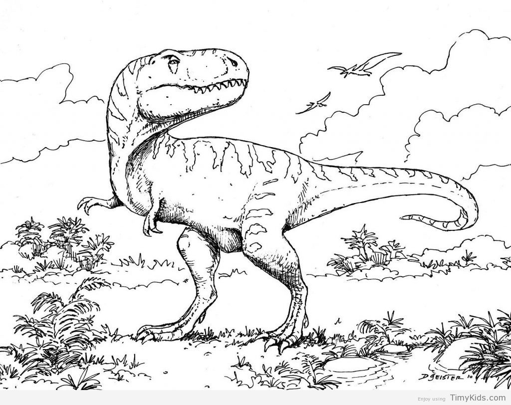 Scary Dinosaur Coloring Pages Beautiful Dinasour Coloring Pages Dinosaurs Free 13922