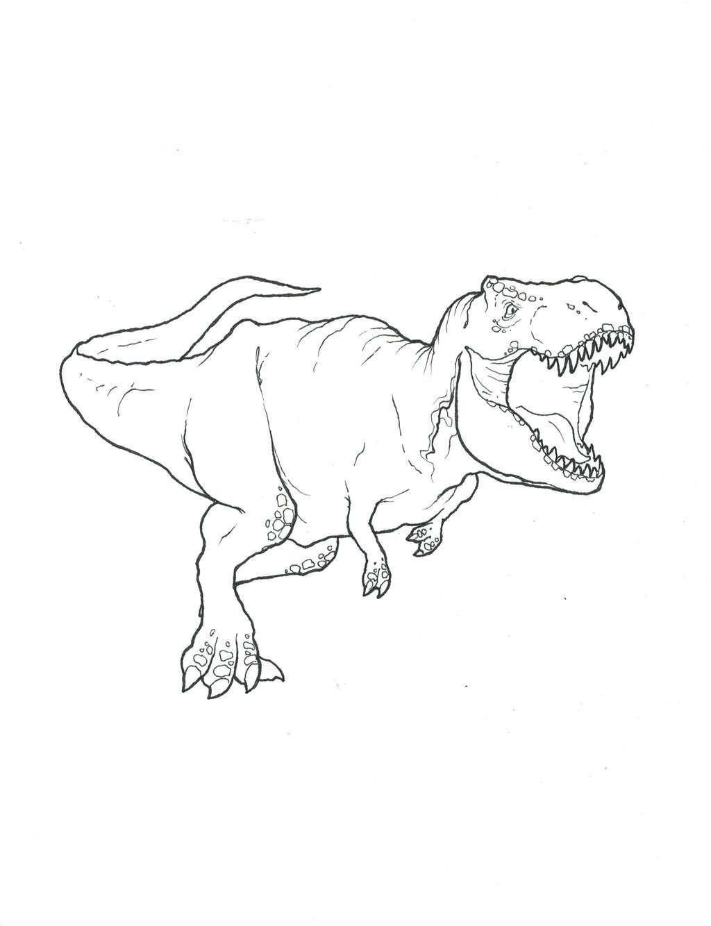 Scary Dinosaur Coloring Pages Coloring Pages Free Dinosaurring Pages Scary For Kids Preschoolers