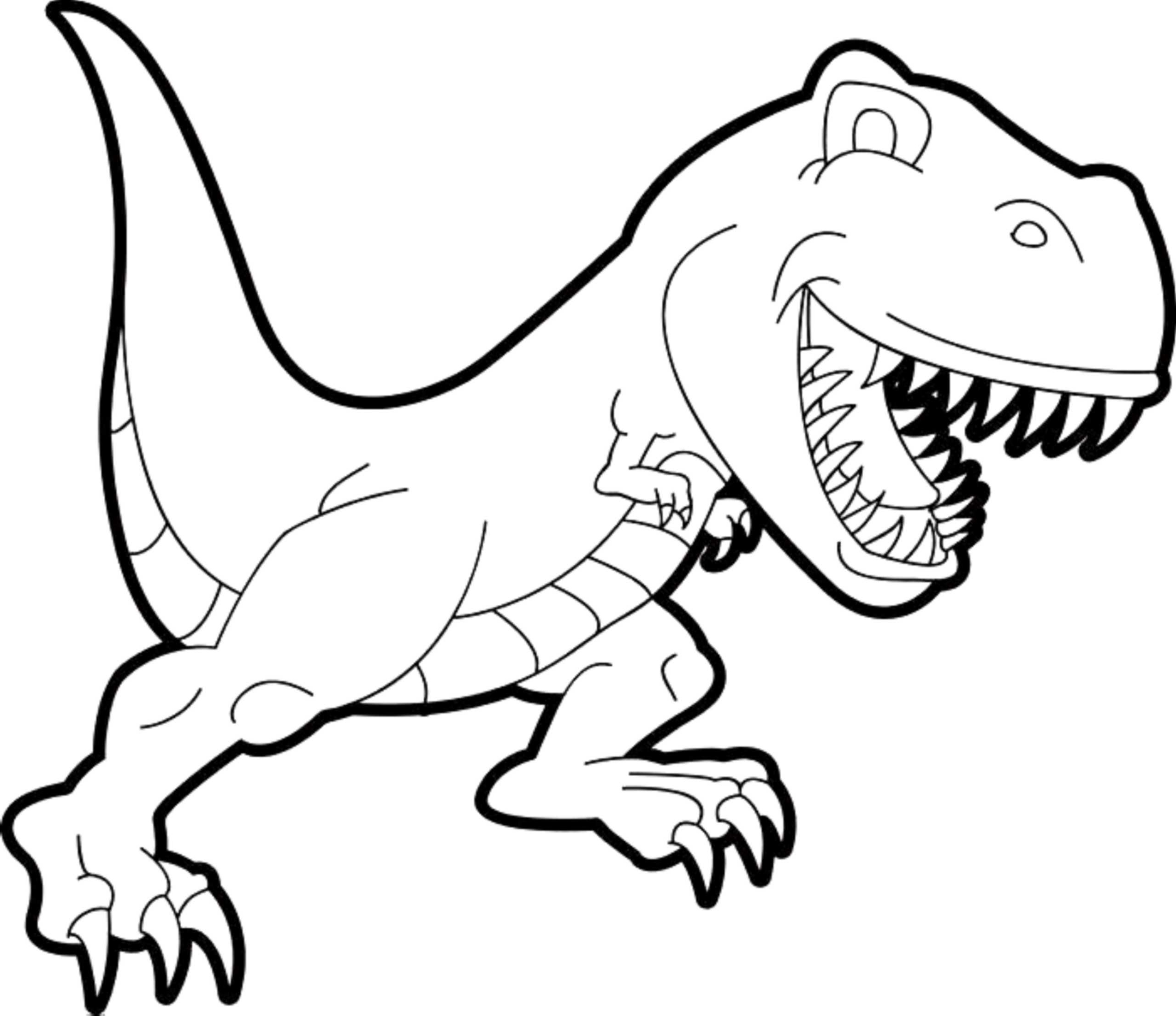 Scary Dinosaur Coloring Pages Page 220 Connecticuttrafficcourts Kids Coloring Area Picture Of