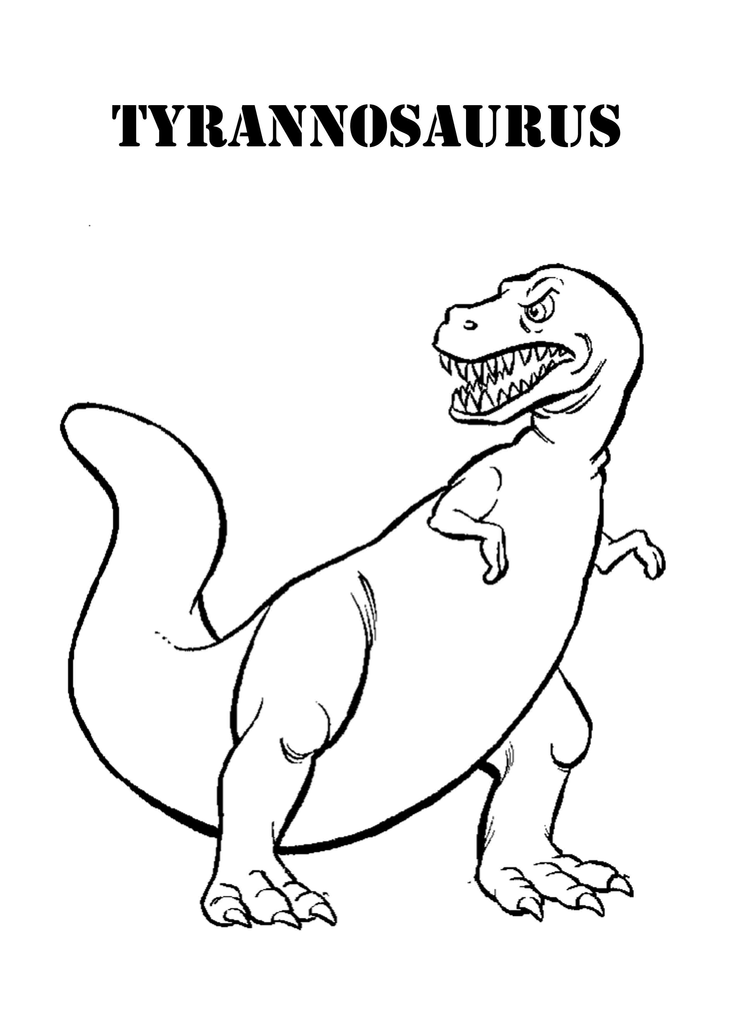 Scary Dinosaur Coloring Pages Scary Dinosaur Coloring Pages Bestappsforkids