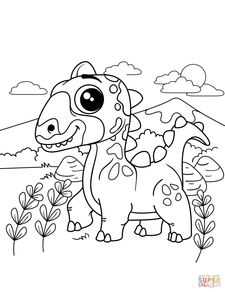 Scary Dinosaur Coloring Pages Surprise Free Coloring Pages Dinosaurs It S Here Scary Dinosaur With