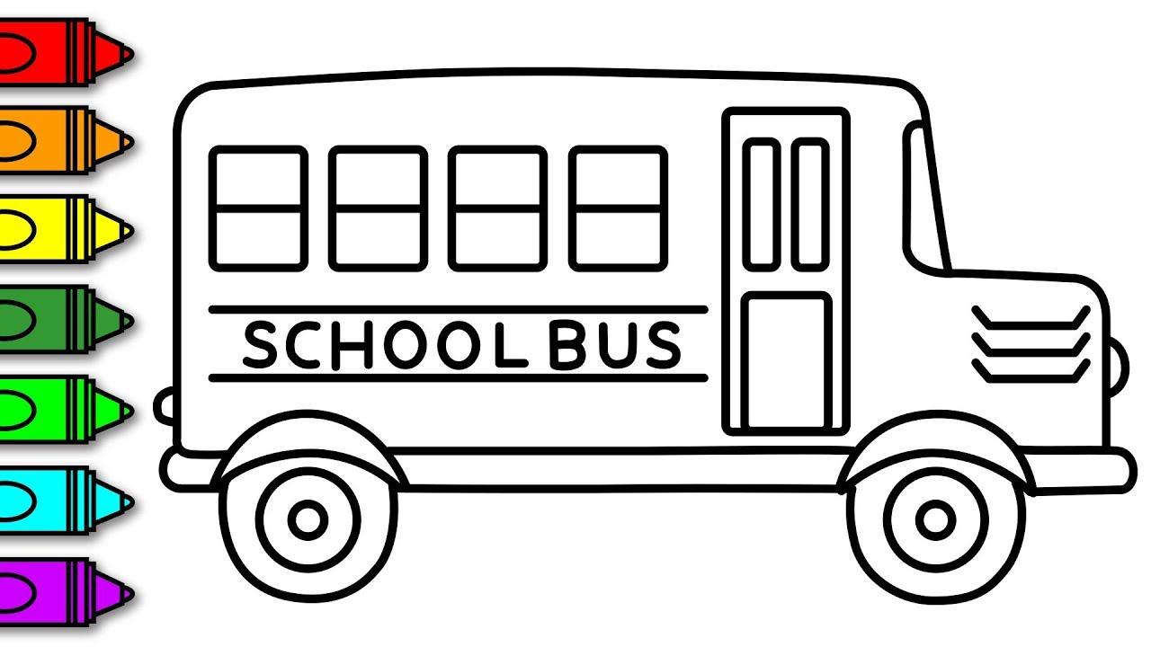 School Bus Coloring Page Coloring Book Maxresdefault School Bus Coloring Page Amazing Photo
