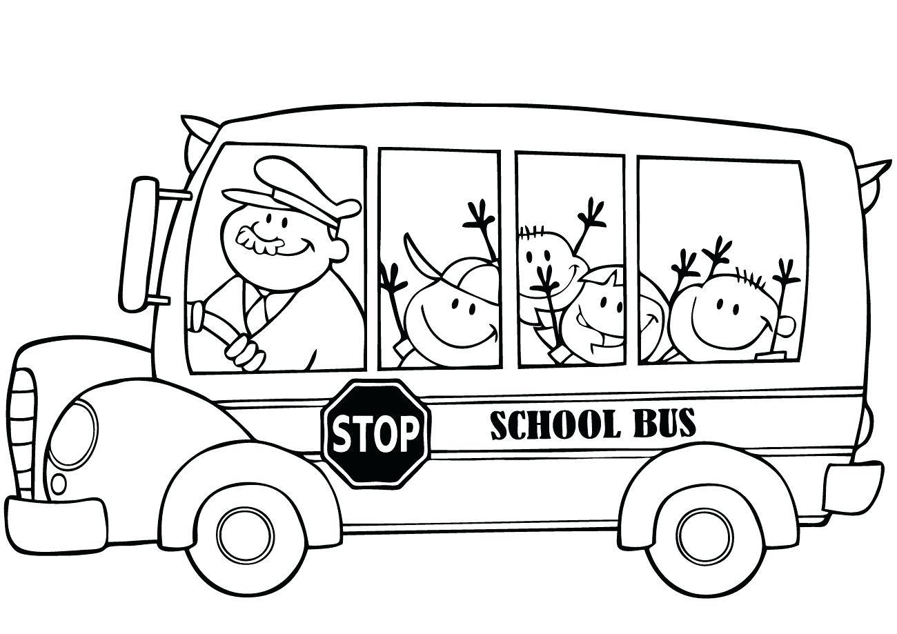 School Bus Coloring Page Free Coloring School Bus Lagunapaperco